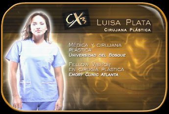 Ficha técnica Luisa Plata Cambio Extremo 3